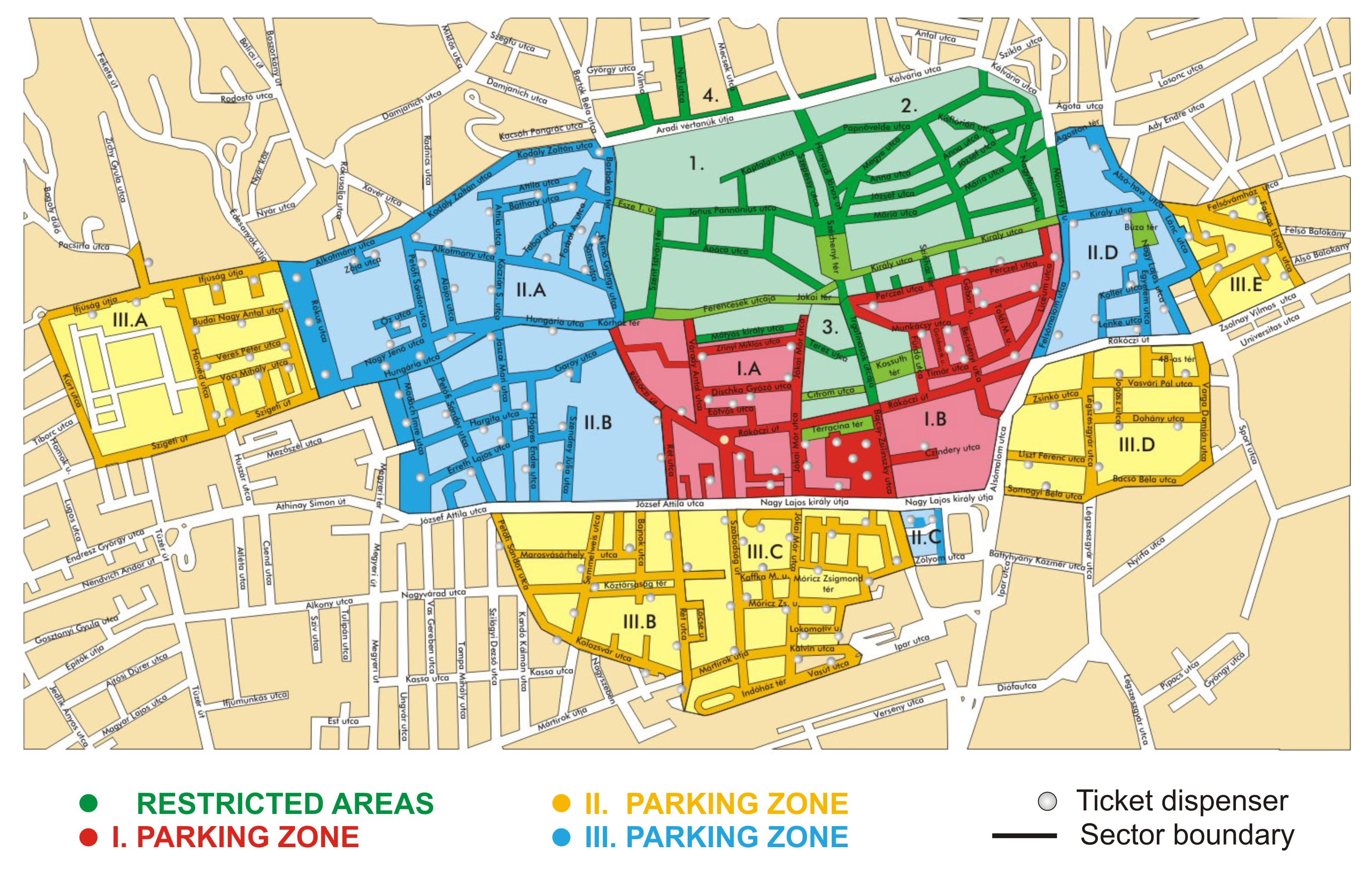 Image result for parking zones